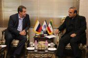 گسترش تعاملات تجاری ایران و روسیه در دستور کار