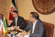 دیدار معاون وزیر کشاورزی برزیل و هیئت تجاری با رئیس اتاق تعاون ایران