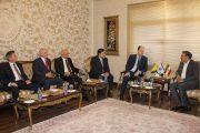 دیدار هیات سیاسی بوسنی هرزگوین با رئیس اتاق تعاون ایران