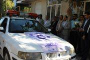 تاكسيرانان مشهد به مناسبت هفته تعاون رژه رفتند