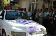 تاکسیرانان مشهد به مناسبت هفته تعاون رژه رفتند
