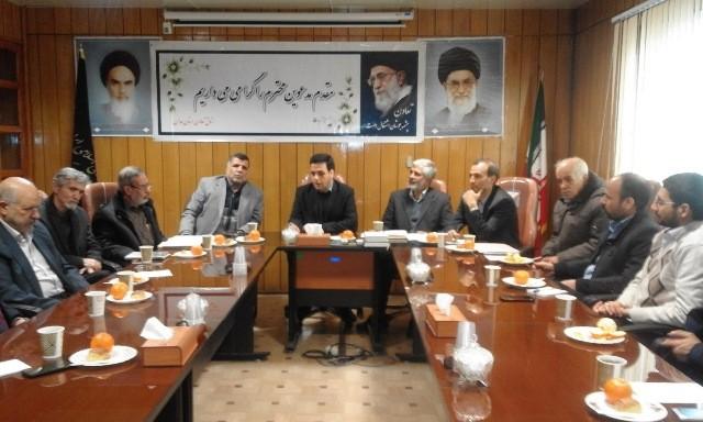 نشست هم اندیشی فعالان اقتصادی تعاون در اتاق تعاون همدان