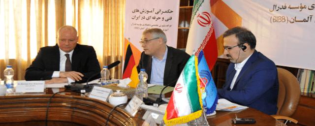 اشتراک تجربه های آموزش فنی و حرفه ای ایران و آلمان/  استفاده از ظرفیت های اتاق های تعاون در سراسر کشور