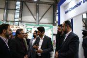 آخرین روز نمایشگاه صنعت نمایشگاهی/ رئیس سازمان تجارت در غرفه اتاق تعاون