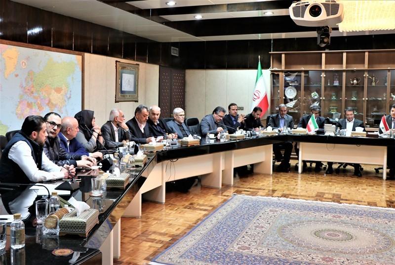 گزارش تصویری دیدار هیات تجاری سوریه با وزیر صمت