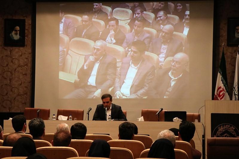 دیدار صمیمانه رئیس اتاق تعاون با پرسنل اتاق تعاون ایران