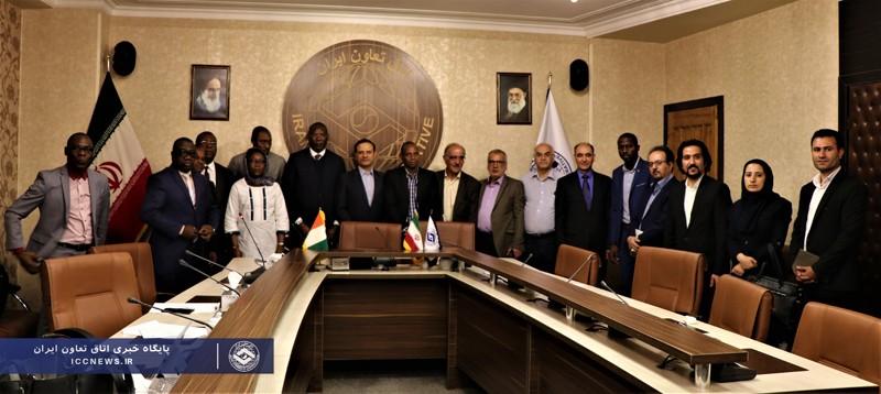 گفتگوهای تجاری تعاونگران ایران و ساحل عاج در اتاق تعاون