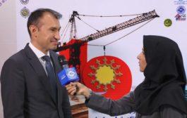 گفتگوی تصویری با نماینده بازرگانی روسیه در ایران