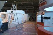کلیپ آماده سازی پانزدهمین نمایشگاه بینالمللی و صنعت ساختمان کیش