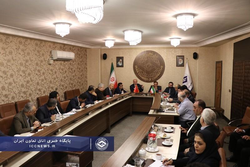 گزارش تصویری از نشست هم اندیشی بخش تعاون ایران با نماینده بخش تعاون ترکیه