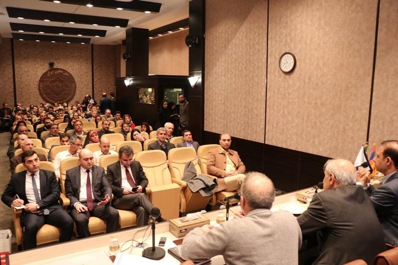 گزارش تصویری همایش بررسی فرصتهای تجاری ایران و ارمنستان
