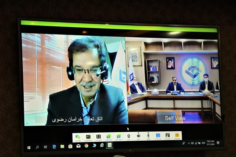 گزارش تصویری نشست رئیس اتاق تعاون با روسای اتاقهای تعاون فارس خراسان رضوی و یزد(ویدئو کنفرانس)