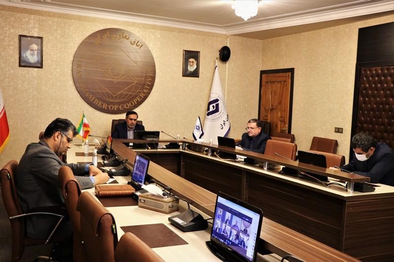 گزارش تصویری دهمین نشست کمیته ویژه اصل ۴۴ در اتاق تعاون